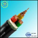 Cable aislado y blindado del PVC de cobre del conductor de control de cable de la comunicación