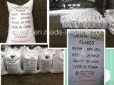 flocos da soda cáustica de hidróxido de sódio da pureza elevada de 96% 99%