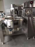 Chaleira de Jacketr do aquecimento de vapor com misturador e pá