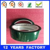 Grünes Polyester-selbsthaftendes Kreppband für Puder-Beschichtung