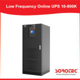UPS 10-800kVA em linha de baixa frequência com indicador do LCD