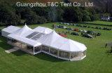 Di lusso 2017 tenda esterna di combinazione della festa nuziale della struttura della miscela di nuovo disegno 20m