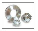 Motor del anillo del acero inoxidable SUS303 del engranaje de estímulo del SUS