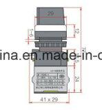 ハンドルの回転式タイプLa118m Seiresの押しボタンスイッチ