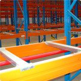 Lager-Metallzahnstange mit Ladeplatten-Stützstab
