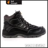 Ровная кожаный обувь безопасности людей с новым Outsole (SN5487)