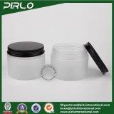 알루미늄 나사 모자 플라스틱 머리 조절기 가면 단지 플라스틱 피부 관리 크림 단지를 가진 150g에 의하여 서리로 덥는 지상 플라스틱 크림 단지