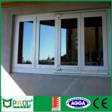 Finestra piegante della Bi di alluminio di profilo con vetro Tempered