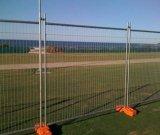Временно загородка, временно панели загородки металла, съемная загородка