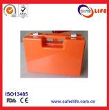 Индивидуальный пакет набора персоны коробки 10 скорой помощи Saferlife медицинский пластичный пустой малый зеленый