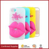 Massensilikon-heißer Lippenentwurfs-Handy-Fall des kauf-3D