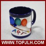 11oz多彩な部分カラー変更のマグの魔法の陶磁器のコップ