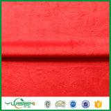 La tela de materia textil casera de China impresa quema la tela del terciopelo