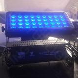 36X10W maak de Openlucht Lichte LEIDENE van de Wasmachine van de Muur Kleur van de Stad waterdicht
