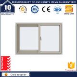Doppia finestra di scivolamento lustrata interna ed esterna incorniciata alluminio