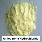 Medicación antiarrítmica de la Anti-Angina del polvo del clorhidrato de la amiodarona del 99% USP