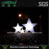 Het hangen van LEIDENE van de Verlichting van de Ster de Lichte OpenluchtSter van Kerstmis (ldx-X02)