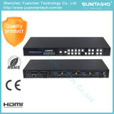 4k 4 X4 commutateur sans joint de matrice des entrées mélangées HDMI avec l'IR