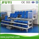 Fußboden - eingehangenes teleskopische Sitzeinziehbares Lagerungs-Gymnastikbleacher-Lagerungs-System Jy-769