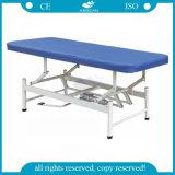 Justierbares körperliche Therapie-Edelstahl-medizinische Prüfung-Bett des Krankenhaus-AG-Ecc08