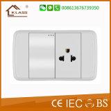 Us Standard Satelite + Computer Socket Outlet