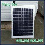 2W-3W-5W-10W de polyLamp van de Zonnecel met Ce-CEI-ISO