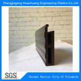 Profil thermique de polyamide d'interruption pour les murs rideaux