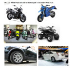 Мотоцикл M5 1500W электрический с батареей лития