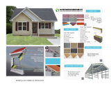 Дом контейнера строительного материала модульная полуфабрикат