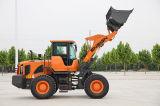 Fahne-populäre neue vordere gegliederte 3 Tonnen-Rad-Ladevorrichtung mit Deutz Motor