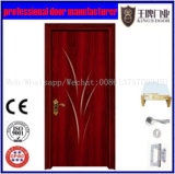 よいデザインMDF PVCはドアに直面した