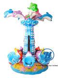 Счастливая машина игры Carousel дельфина для детей (ZJ-AC03)