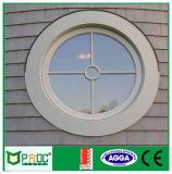 Окно двойного матированного стекла алюминиевое круглое