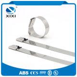 Нержавеющая сталь кабеля обозначает обручи связей