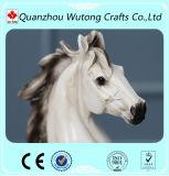 الصين باع بالجملة ممونات راتينج واقعيّة ييقفز حصان حجر السّامة نحت تمثال