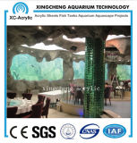 Precio transparente grande modificado para requisitos particulares del proyecto del restaurante del acuario