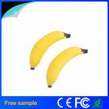 La vente en gros 2016 personnalisent la clé de mémoire USB en caoutchouc Jv0896 de forme de banane