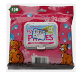 Venta al por mayor del cuidado de animales Antisects perro limpio Wet Wipes