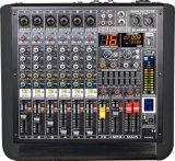 Nuevo amplificador accionado diseño especial del profesional de la serie del mezclador Am-Q8p