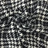 Generi di nero & di bianco del tessuto delle lane di Houndstooth