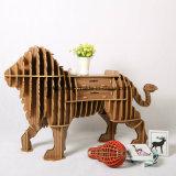 Король Декоративн Мебель льва универсальной игрушки детей деревянный