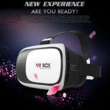 2017 vidros profissionais Vr da caixa 3D de Vr promoveram o vídeo Glasses+ Bluetooth da realidade virtual 3D da versão