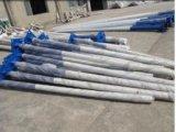 LEIDENE van het Lichaam van de Legering van het aluminium Straatlantaarn met de Batterij van het Lithium