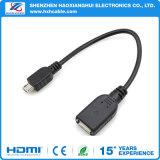 cabo de extensão do USB de 1m para o telemóvel