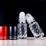 Rolo desobstruído do frasco de vidro 5ml sobre, frasco de vidro do rolo do perfume 10ml