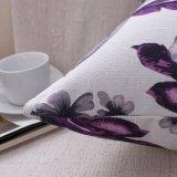 Cassa stampata floreale di tela del cuscino di manovella del cotone senza farcire (36C0012)
