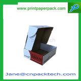 Подгонянная коробка системы следа корабля коробки Устанавливать-Верхней части бумаги с покрытием складывая упаковывая