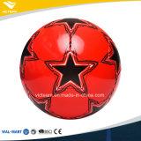 光沢があるPVCサイズ5 4中級デザインサッカーボール