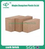 Natuurlijke Cork Cork van de Yoga van de Toebehoren van Pilate van de Baksteen van de Yoga van het Blok van de Yoga van het Blok van de Yoga Baksteen