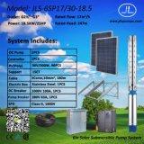 насос погружающийся 18.5kw 6inch солнечный, Borehole наилучшим образом, насосная система земледелия
